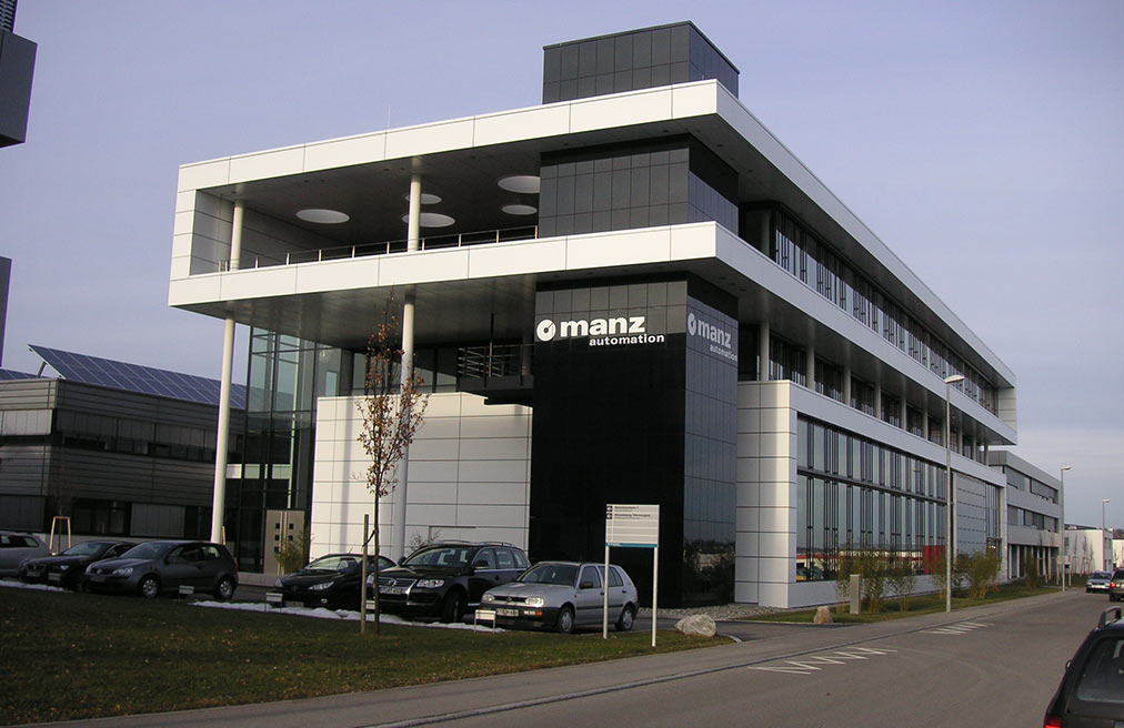 Manz AG in Reutlingen