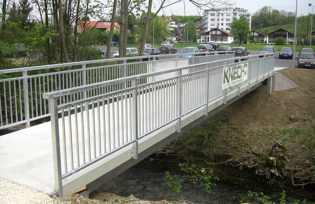Fußgängerbrücke Riederich