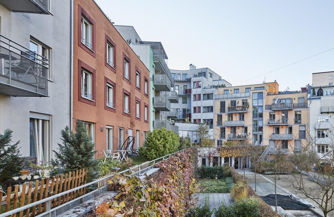 4 MFH Loretto-Areal mit gemeinsamer Tiefgarage in Tübingen
