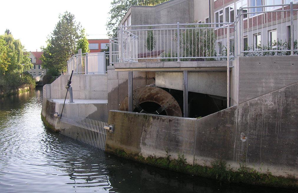 Wasserkraftanlage Gymnasium Pfullingen