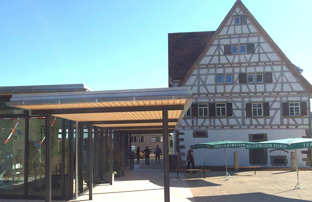 Freilichtmuseum Beuren Eingangsgebäude