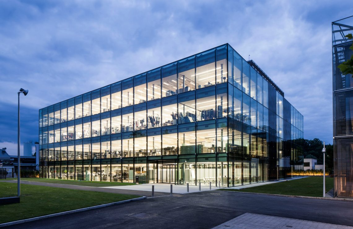 Neubau Verwaltungsgebäude D15 Hugo Boss AG  in Metzingen